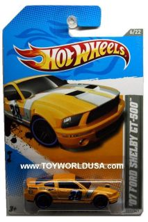 2012 Hot Wheels HW Code Cars 231 07 Ford Shelby GT 500