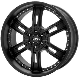 20 inch Chevy GMC Truck GM 6 Lug Black Rims Wheels 6x5 5