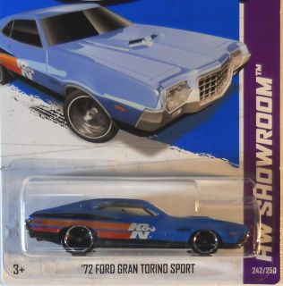 Hot Wheels 2013 HW Showroom 72 Ford Gran Torino Sport A Case
