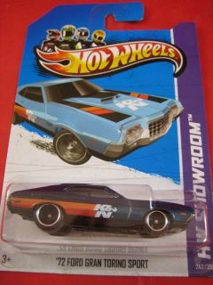 Hot Wheels Treasure Hunt 2013 Super Mystery 72 Ford Gran Torino Sport