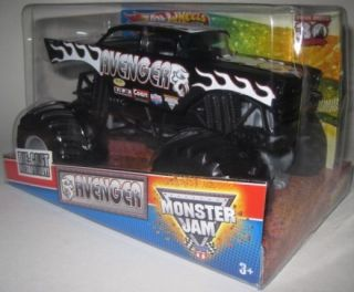 2012 Hot Wheels Monster Jam Avenger 1 24 Scale Diecast Metal Truck