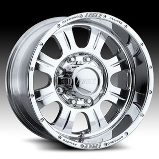 Eagle 140 Wheels 16x8 Fits Chevy GMC Silverado 1500 Z71 Rims