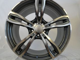20 BMW M5 F10 Replica Sport Wheels Rims 5 6 7 8 Series Machined w