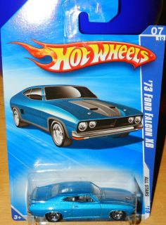 Hot Wheels 73 Ford Falcon XB 2010 All Stars Error No Tampos