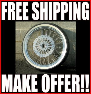 21 X 3 5 80 SPOKE WHEEL 120 70 21 WWW TIRE ROTORS HARLEY TOURING