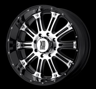 Black MCH Rims Tires 8x165 Hummer Chevy Dodge Nitto Trail Mud 285 70