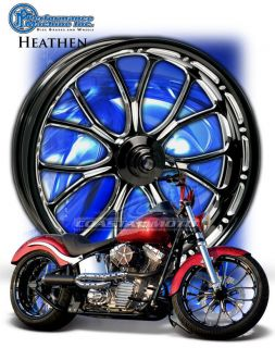 Machine Heathen Motorcycle Wheel Harley Streetglide Roadglide