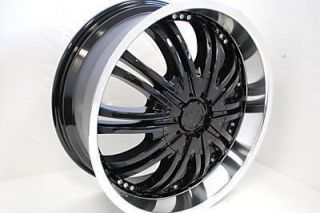 Brand New One Set 18 BLACK Wheels Rims Nissan Altima Maxima 300ZX 350Z