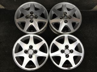 Escort Wheels 93 94 95 96 OEM Mercury Tracer Factory Stock Alloy Rims