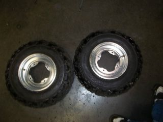 97 Yamaha Banshee 350 Front Wheels Rims Tires