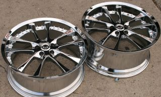Stern Grans ST10 20 Chrome Rims Wheels Benz SL500 SL600 20 x 8 5 9 5