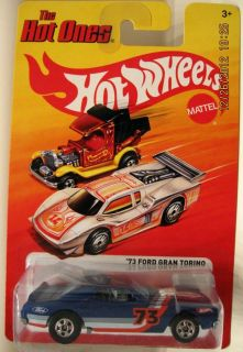 Hot Wheels Hot Ones 73 Ford Gran Torino Stocker