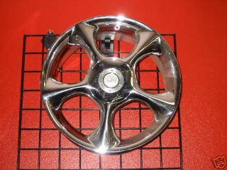 17 NZO Roma Chrome Wheels Rims Honda Nissan Toyota