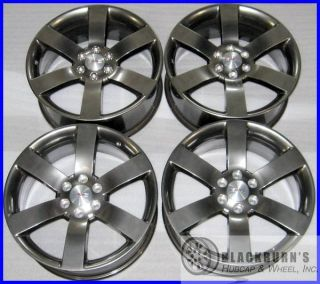 ENVOY CHEVY TRAILBLAZER SS 20 GUNMETAL WHEELS OEM FACTORY RIMS 5254