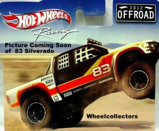 83 Silverado Hot Wheels Racing Series 2012 Case C Off Road