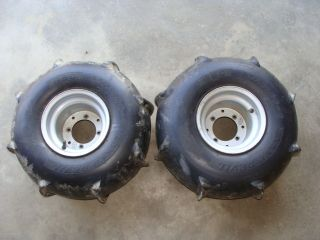 HONDA ATC200X 200X ATC 83 84 85 250R ITP REAR WHEELS PADDLE TIRES SAND