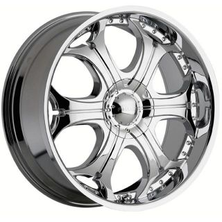 24 Chrome Rims Tires 5x139 135 Dodge RAM 1500 Durango Ford F150