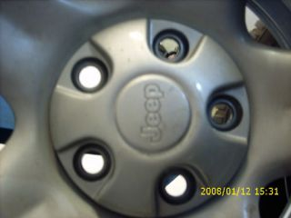 2003 Jeep Wrangler Wheels Tires Set of 4