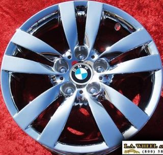 NEW 17 BMW 325I 328I 330I E90 OEM CHROME WHEELS RIMS EXCHANGE 59584