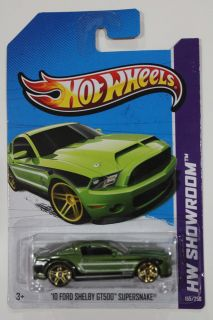 New Hot Wheels 2013 Super Treasure Hunts 10 Ford Shelby GT500