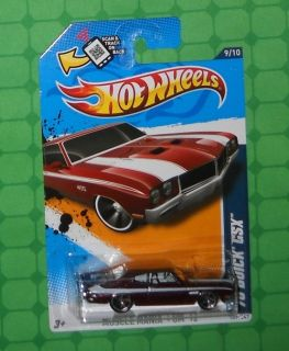 2012 Hot Wheels Muscle Mania GM 109 70 Buick GSX