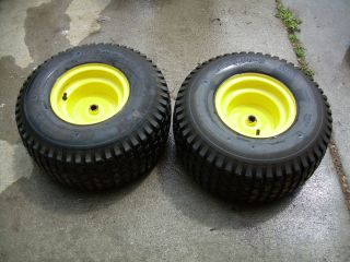 John Deere 102 Rear Tires and Rims 20x8 00 8