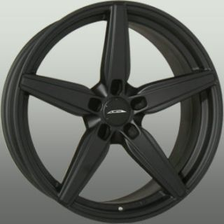 20x10 Ace Couture 5x120 ET35 Matte Black Wheels 4 New Rims