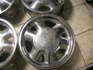 16 GMC Polished Yukon Sierra 1500 Factory Wheels Rims