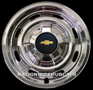 Chevy 15 6 Lug Chrome Wheel Skins Set of 4 Free SHIP