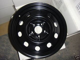 06 Up 17x7 5 Steel Wheel Black for Ford Crown Victoria