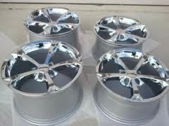 Corvette Grand Sport Chrome Wheels Rims 18x9 5 19x12 GM Wheels