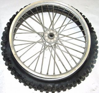 96 KTM KTM360 360 Front Tire Wheel Rim Sprocket Hub 19