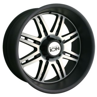 Style 183 Matte Black Machined 20x10 25mm 108 6 139 7 Wheel Rim