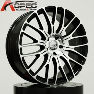 20 Vortex 5x112 ET18 Offset Audi Mercedes Rims Wheels