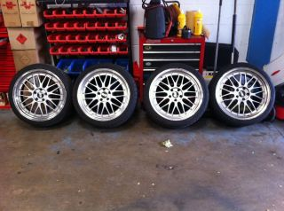 19 BBs LM Replica Alloy Wheels 5x112 VW Audi Fitment ET35
