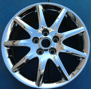 ONE 2006 2007 2008 BUICK LUCERNE 17 FACTORY OEM WHEEL RIM CHROME 4018