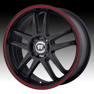 20 inch Motegi MR117 Black Wheels Rims 5x4 5 Town Country Avenger
