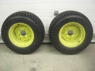 John Deere Wheels Tires 110 112 120 140 300 312 314 316 317 23x10 50