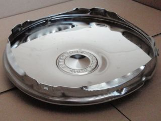 John Deere JD Chrome Wheel Covers Hub Caps 12 inch Cap L120 L130 GT235