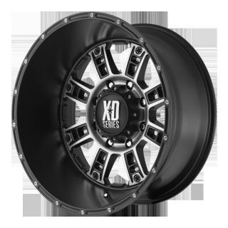 Series XD809 Black Mach 6x135 w 18 Et XD80989063718 Wheels Rims