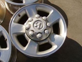 05 06 07 08 09 Dodge Ram 2500 3500 17 alloy wheels rims 8x6 5 17x8 srw
