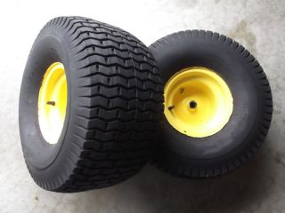 John Deere LT133 150 155 160 166 Rear Rims and Tires