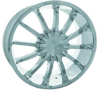24 inch New Rims Tires Wheels Escalade Chrome Player 147