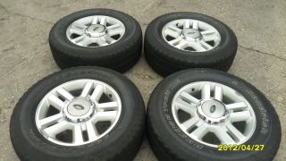2004 2012 Ford F 150 F 150 Ford Expedition 18 inch Wheels Tires w Caps