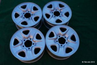 Set 4 18x8 Toyota Tundra Sequoia Steel Wheels