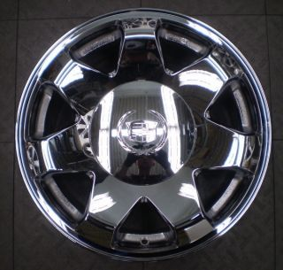 4575 Cadillac Escalade 17 Factory OE Chrome Wheel Rim