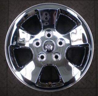 2266 Dodge RAM 1500 17 Factory Chrome Clad Alloy Wheel Rim A