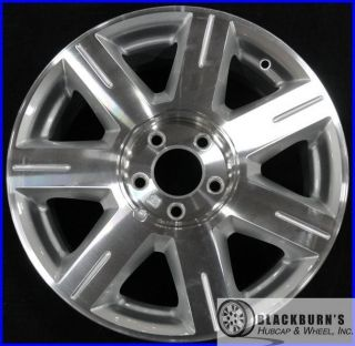 06 07 Cadillac DTS 17 Machined Silver Wheel Take Off Factory Rim 4600