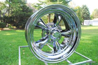 Torq Thrust 15 x 7 Chrome Chevy GMC Truck 5 on 5 BP American Racing
