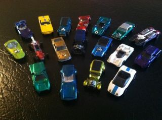 Vintage Lot Hot Wheels Redlines 18 Diecast Cars 1960s Vicky Demon